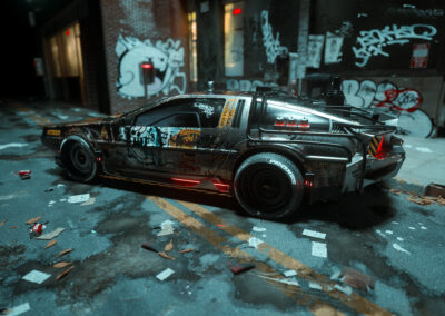 Dystopian DeLorean