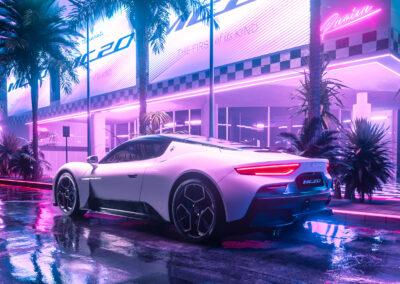 Work for Maserati MC20